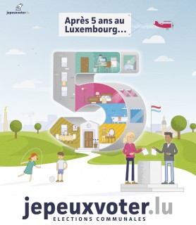Je peux voter Luxembourg 2017