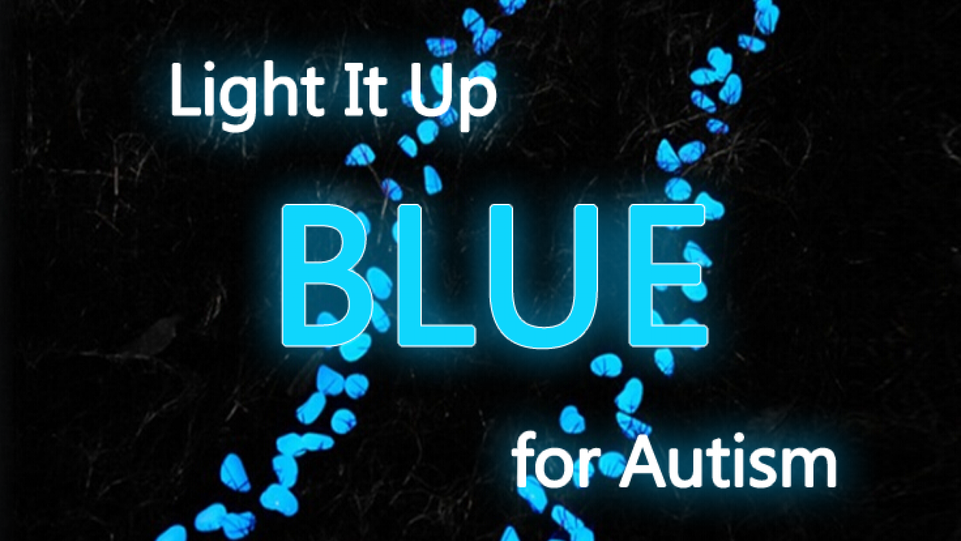 Light Up Blue for Autism 1
